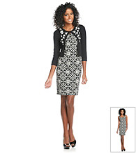Jessica Howard® Applique Sweater and Dress