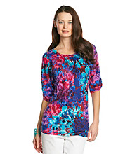 Nine West Jeans Elisha Printed Top