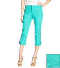 Nine West Jeans Colored West End Cropped Jean