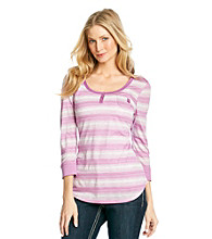 Nine West Vintage America Collection® Primrose Striped Henley