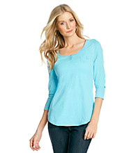 Nine West Vintage America Collection® Primrose Solid Henley