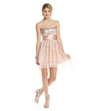 Trixxi® Juniors' Strapless Sequin Party Dress
