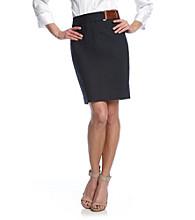 MICHAEL Michael Kors® Pencil Skirt with Belt Detail