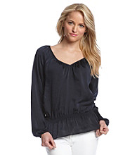 MICHAEL Michael Kors® Cinch Waist Blouse