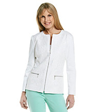 Laura Ashley® White Lace Jacket