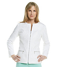 Laura Ashley® Petites' White Lace Jacket