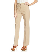Jones New York Signature® Fawn Stretch Angle Pocket Pant