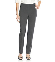 Jones New York Signature Stretch Side Zip Pant