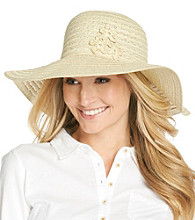 August Accessories® Flower Fun Floppy Hat