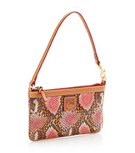 Dooney & Bourke® Pink Python Large Slim Wristlet