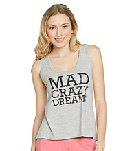 Steve Madden Mad Crazy Dreams Tank Top - Heather Grey