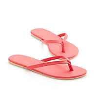 Relativity® Matte Finish Flip Flops