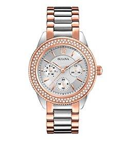 Bulova® Women's Two Tone Watch