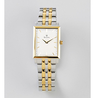 Bulova® Men's Two Tone Watch