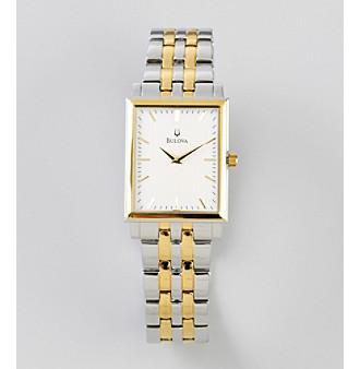 Bulova® Men's Two Tone Watch
