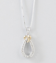 .10 Diamond Teardrop Pendant