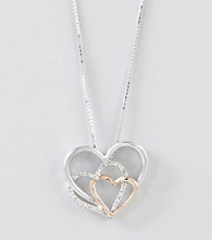 .10 ct. t.w. Diamond Heart Pendant