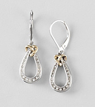 .16 ct. t.w. Diamond Teardrop Earrings
