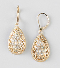 Erica Lyons® Goldtone Pierced Earrings