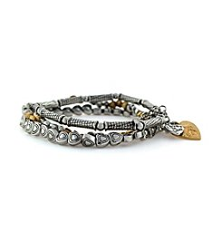 Jessica Simpson Two Tone Bracelet
