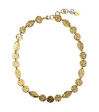 Nine West Vintage America Collection® Antique Goldtone Collar Necklace