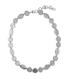 Nine West Vintage America Collection® Antique Silvertone Collar Necklace
