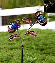 Echo Valley® Twin Illuminarie Floral Spinner Stake