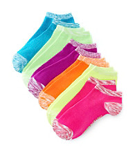 Steve Madden 6-pk. Neon Low Cut Socks