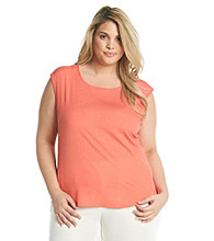 Calvin Klein Plus Size Sleeveless Embellished Top