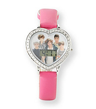 One Direction Pink Heart Face Watch