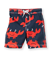 Carter's® Boys' 2T-4T Navy Crab Swim Trunks