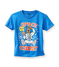 Scooby-Doo® Boys' 4-7 Blue Short Sleeve Space Cadet Tee