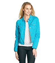 Oneworld® Petites' Blue Denim Jacket