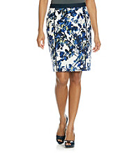 Rafaella® Petites' Printed Floral Pencil Skirt