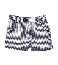 Carter's® Girls' 2T-6X Navy/White Seersucker Shorts