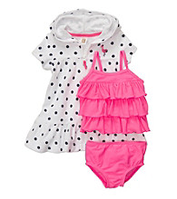 Carter's® Baby Girls' Pink 3-pc. Swim Set