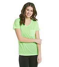 Grane® Juniors' Relaxed Fit V-neck Pocket Tee