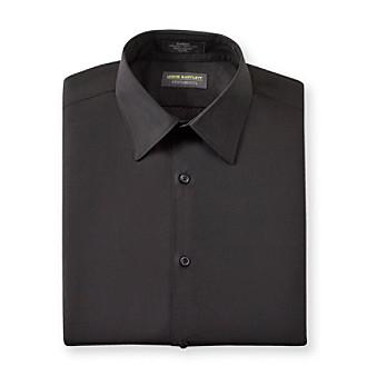 John Bartlett Statements Men's Black Long Sleeve Dress Shirt