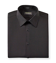 John Bartlett Statements Men's Black Long Sleeve Dress Shirt