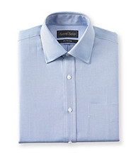 Kenneth Roberts Platinum® Men's Blue Twill Solid Dress Shirt