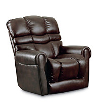 Lane® Trenton Dark Brown Power Rocker Recliner