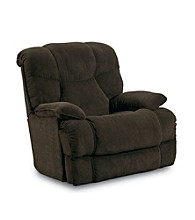 Lane® Luck Chocolate Power Rocker Recliner with Massage