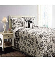 Etched Floral Comforter Set by Scent-Sations, Inc.