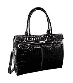 McKlein Francesca Faux-Leather Business Tote