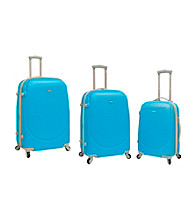 Travelers Club® 3-pc. Expandable ABS 4-Wheel Luggage Set