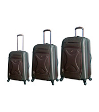 Travelers Club® 3-pc. Expandable Hybrid 4-Wheel Luggage Set
