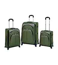 Travelers Club® 3-pc. EVA Expandable 4-Wheel Luggage Set