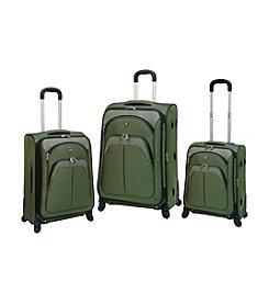 Travelers Club® 3-pc. EVA Expandable 4-Wheel Luggage Set