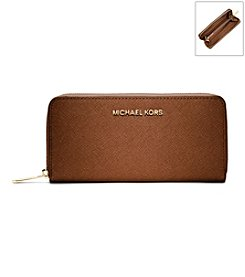 MICHAEL Michael Kors® Jet Set Leather Continental Wallet
