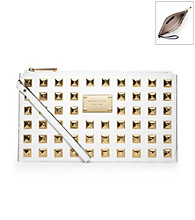 MICHAEL Michael Kors® Large Zip Leather Clutch